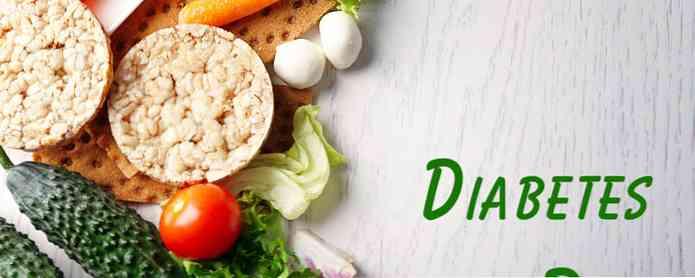 diabetes de la dieta makanan